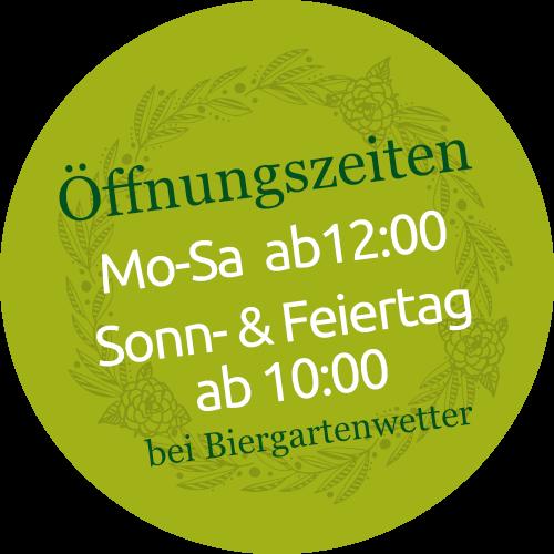 Öffnungszeiten Biergarten am See - Homburg Jägersburg
