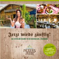 PETERS Alm Broschüre 2020